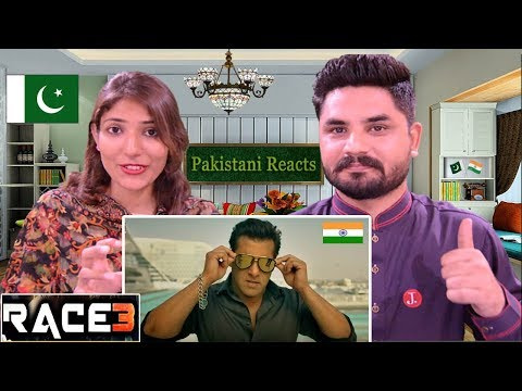 Pakistani Reacts To | Race 3 Official Trailer | Salman Khan | Remo D'Souza | Race 3 Reaction thumbnail