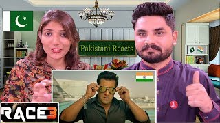 Pakistani Reacts To | Race 3 Official Trailer | Salman Khan | Remo D'Souza | Race 3 Reaction
