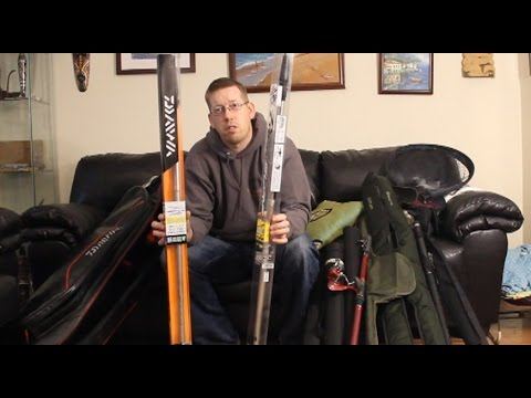 Travel Rods Review  My travel rods and nets for fishing