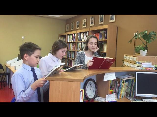 Изображение предпросмотра прочтения – «7а кл.» читают произведение «Шарик» А.И.Солженицына