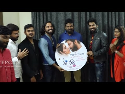 E Ee Movie Vodde Vodde Song Launch By...