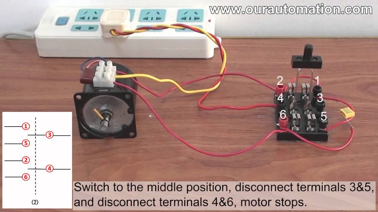 Remote Control Kit Substitutes for DPDT Switch to Control AC Motor\'s ...