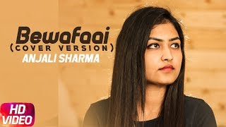 Bewafaai (Cover Song)   Lyrical Video   Anjali Sharma   B-Praak   Jaani   Speed Records