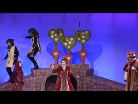 Alice in Wondeland & The Queen of Hearts