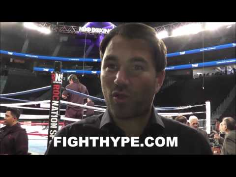 EDDIE HEARN DETAILED ANALYSIS OF ANDRE WARD'S VICTORY OVER KOVALEV; TALKS PERFORMANCES AND JUDGING