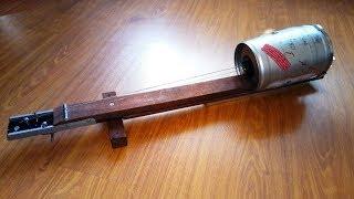 Самодельный музыкальный инструмент Диддли бо / Diddley bo