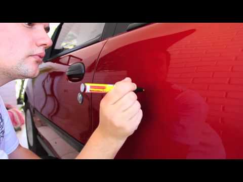 Elimina los rayones del carro facilmente con fix it pro - Quitar rayones coche facilmente ...