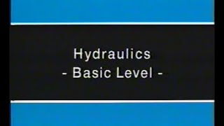 Festo Didactic: Hydraulics for Control Systems