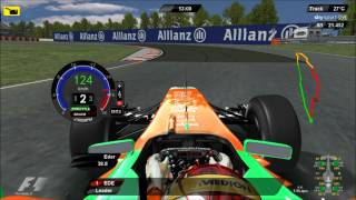 rFactor F1 2011 Canada DRS KERS Montreal Onboard Driver Virtual Eder Belone