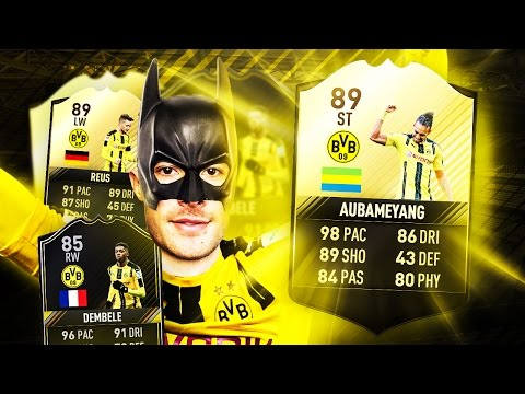 PACE SQUADBUILDER w/ REUS, DEMBELE & AUBAMEYANG! DAILY KNOCKOUT TURNIER! 😍👌 FIFA 17 ULTIMATE TEAM