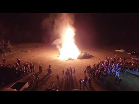 Field Party/Bonfire- 1,200 Christmas Trees