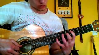 Veil of Maya - It´s not save to swim today [acoustic guitar cover] Video