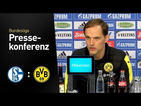 Die Pressekonferenz nach dem Derby | FC Schalke 04 - BVB 1:1