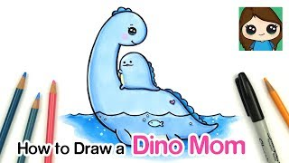 How to Draw a Dinosaur Mom | Sumikko Gurashi