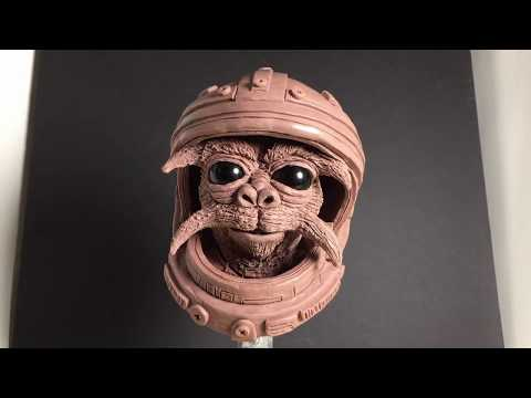 Clay Sculpt - Astro Monkey