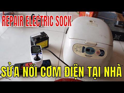 SỬA NỒI CƠM ĐIỆN SHARP KT28 - REPAIR ELECTRIC COOK
