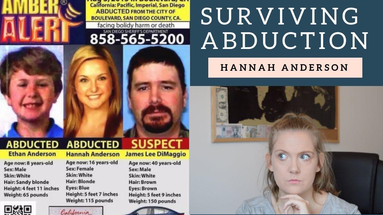 Surviving abduction: Hannah Anderson | Eleena Jane Mysteries