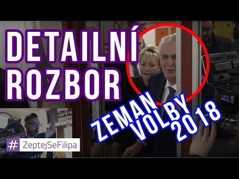 Miloš Zeman u voleb 2018 - Analýza situace s bodyguardy a PP (LIVE)