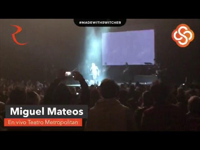 Miguel Mateos en directo