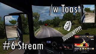 STREAM// Driving, talking and finding jumps with Toast