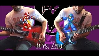 Download X vs. Zero [Mega Man X5 Guitar Cover] MP3 song and Music Video