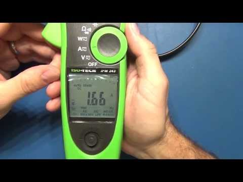 Review: ISO-TECH IPM 243 Power Clamp meter 600A AC/DC