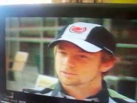 Jenson Button Brazil Sunday 25 September 2005