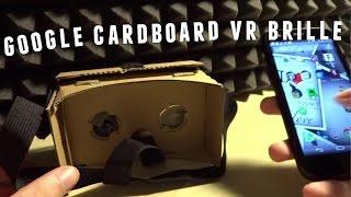Google Cardboard VR Brille selber bauen - Virtual Reality zum Einstiegspreis mal angetestet...