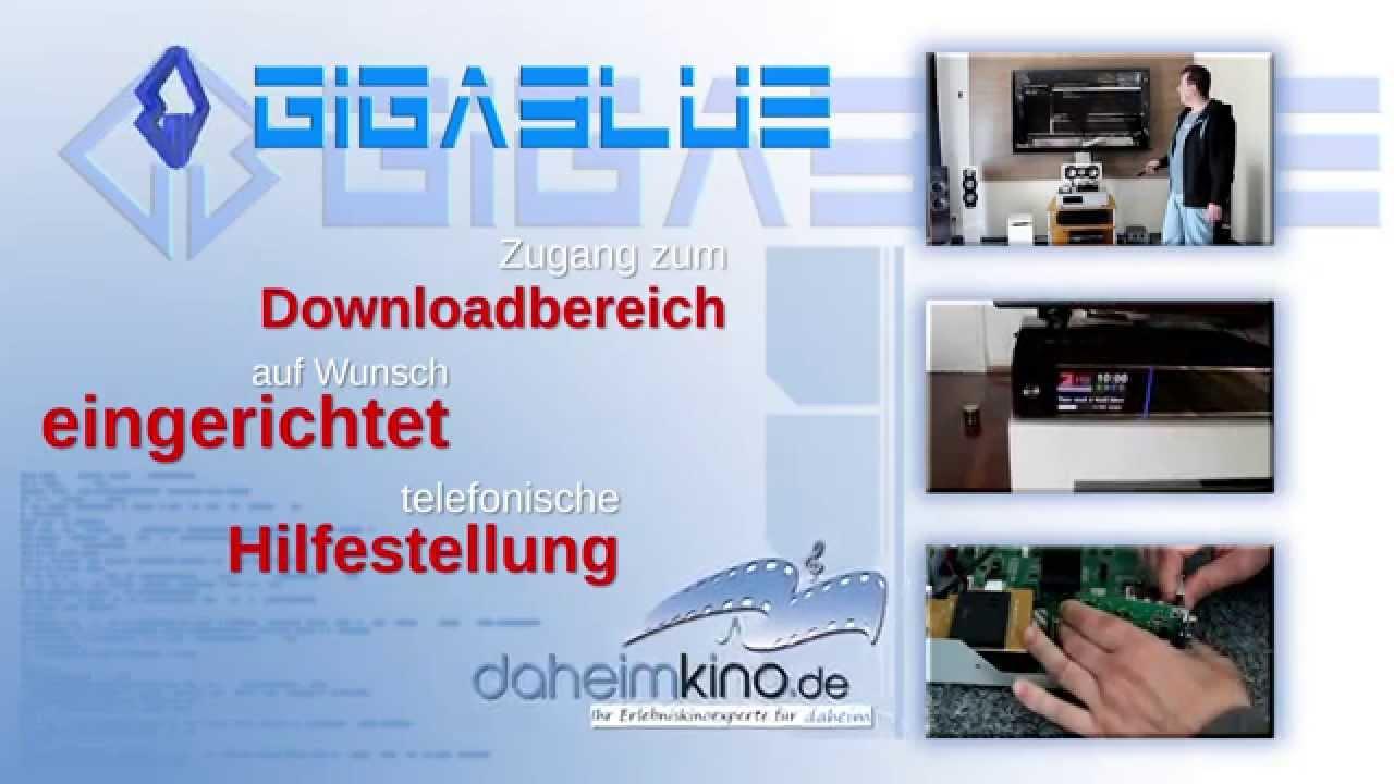 Gigablue Daheimkino De Werbespot Auf Tectime Youtube