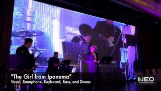 """The Girl from Ipanema"" Jazz Band Wedding Band Hong Kong -  Neo Music Production"