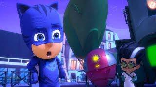 Герои в масках PJ Masks Герои в масках проблемы! - мультики для детей