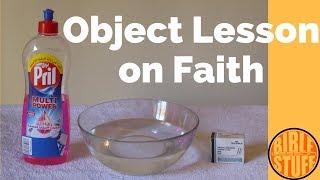 Object Lesson On Faith