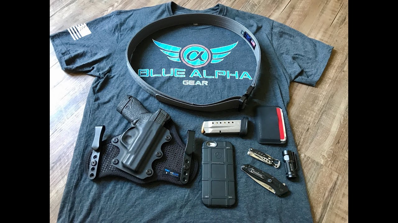 8edb82a6b5dc4 Blue Alpha Gear Hybrid EDC Cobra Belt Review - YouTube