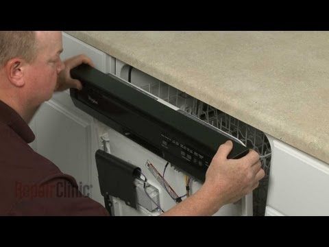 Control Panel & Touch Pad  - Whirlpool Dishwasher
