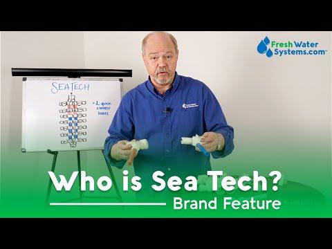 SEA TECH 1351508 Fresh Water Fitting