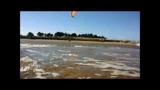 Kitesurfing Cleethorpes 29th September 2013