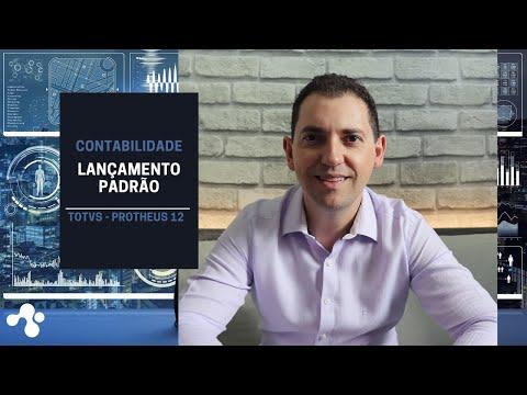 LANÇAMENTO PADRÃO -