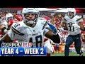 Madden 17 Chargers Franchise Year 4 - Week 2 @ Chiefs | Ep.73