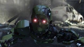 Bad Robot - Binary Domain Gameplay (Xbox 360)
