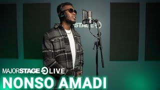 NONSO AMADI - WHAT MAKES YOU SURE MAJORSTAGE STUDIO PERFORMANCE
