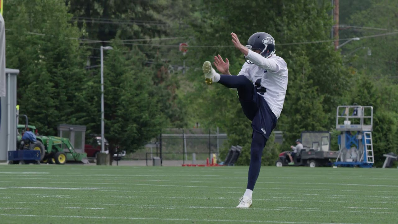 abe7e96c713 Moore: The biggest standout from Seahawks rookie minicamp? Punter Michael  Dickson