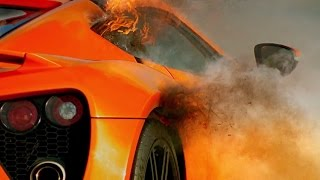 Zenvo ST1: Fire On The Track! | Top Gear | Series 21 | BBC