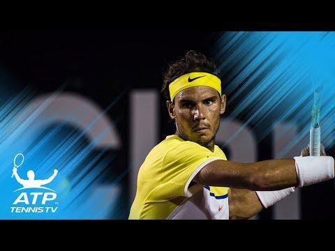 Best Rafa Nadal Shots at the Rio Open!