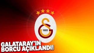 Galatasaray'ın Toplam Borcu, 2 Milyar 825 Milyon 755 Bin 791 TL