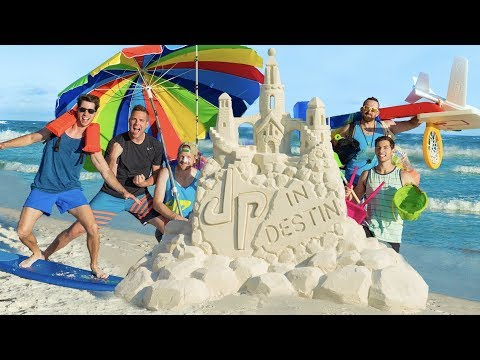 Thumbnail: Beach Stereotypes | Dude Perfect