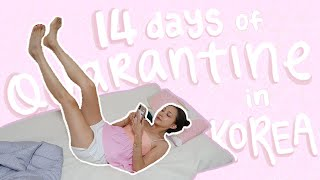 14 Days of Quarantine in Korea VLOG | How Korea Handles COVID-19 & first-hand experience