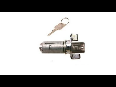 General Motors Ignition Lock Cylinder Replacement  YouTube