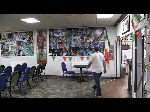 UK's Italian community prepares for festive night ahead of Euro final   AFP