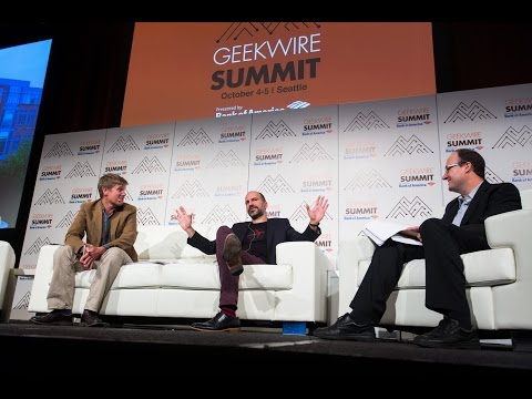 Expedia CEO Dara Khosrowshahi at the 2016 GeekWire Summit