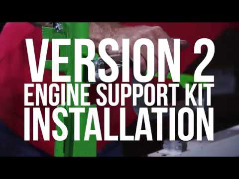 engine support kits installation xtreme pro series trimmer racks version 2 by green touch industries